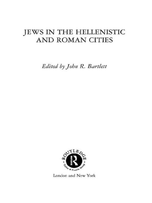 a history of hellenistic judaism Hellenistic thought was oriented toward the universal, towards a cosmopolitan (my city is the universe) worldview 1 hellenistic jewish authors such as philo of alexandria seek to demonstrate to pagans that judaism is a rational religion according to the laws of nature 2 apologetics and an effort to be understood is behind this (e.