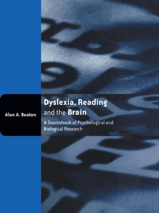 a research on developmental dyslexia