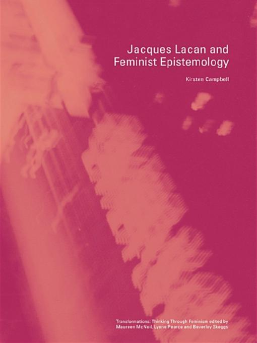 autism and the feminist epistemology Feminist legal epistemology susan h williamst feminist legal theory, having achieved a degree of recognition (if not acceptance) in the legal academy, has become increasingly introspec.