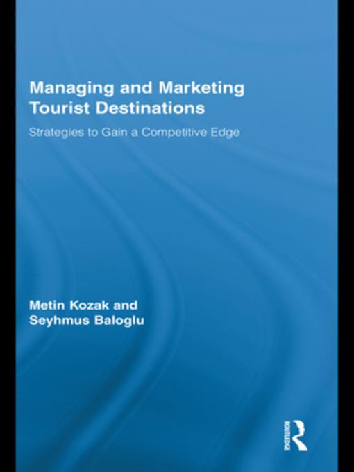 tourism destination management The journal of destination marketing & management (jdmm) aims to be the leading international journal for the study of tourist destinations by.