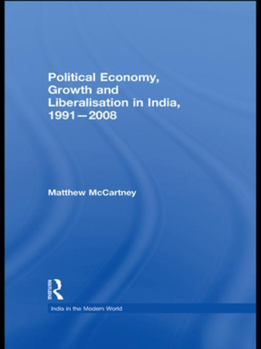 liberalisation in india