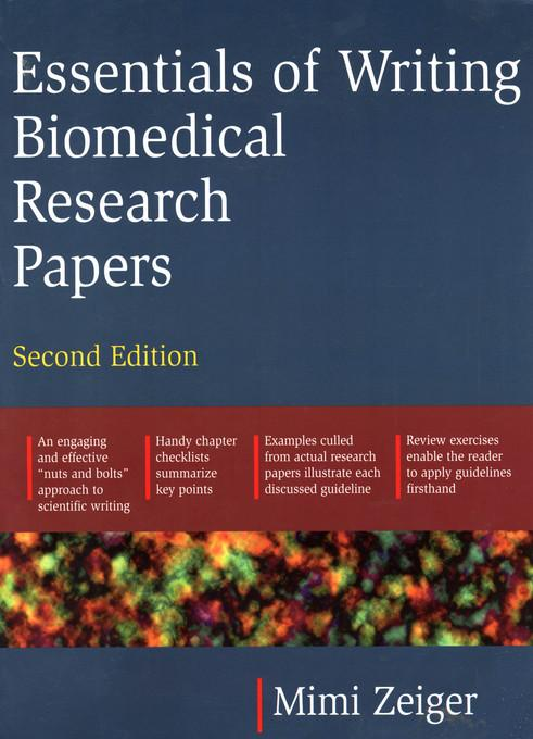 essentials writing biomedical research papers ebook Download ebook : essentials of writing biomedical research papers second edition in pdf format also available for mobile reader.