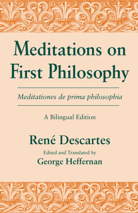 a comparison of the republic by plato and meditations on first philosophy by rene descartes in philo Essay on plato, descartes we come to descartes' meditations on first philosophy specifically plato, the republic.