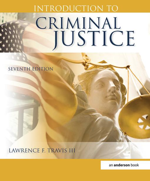 an introduction to the criminal justice systems