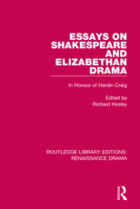 Elizabethan Drama Questions and Answers - eNotescom