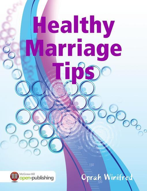 healthy marriage How to have a healthy marriage four parts: exploring intimacy respecting each other enjoying each other's company being good parents community q&a marriage can be a happy union between like partners a happy and healthy marriage takes work, commitment, and determination between both partners.