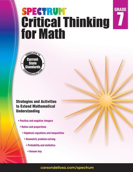 critical thinking math problems 8th grade