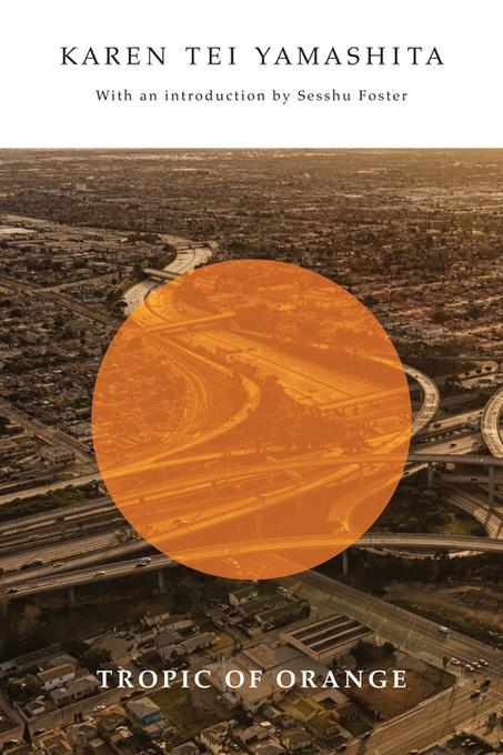 yamashitas tropic of orange The plot of tropic of orange centers around a highway accident that becomes a homeless encampment as people are forced to leave their cars on a mile-stretch in between two burning semis, and an orange tied to the tropic of orange that pulls that latitudinal line northward to la.