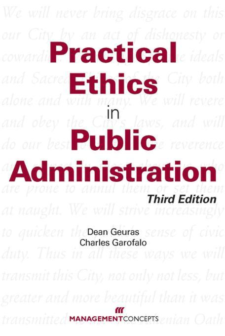 ethics and trustworthiness in the public administration The mission of the palm beach county commission on ethics is to foster integrity in public services, to promote the public's trust and confidence in that service, and to prevent conflicts between private interests and public duties.