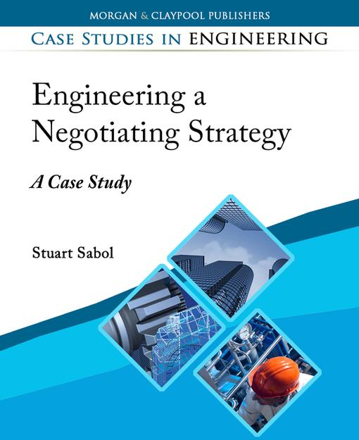 case study on negotiation Tni faculty use your specific challenges as working material to create customized case studies addressing the issues you anticipate in upcoming negotiations.